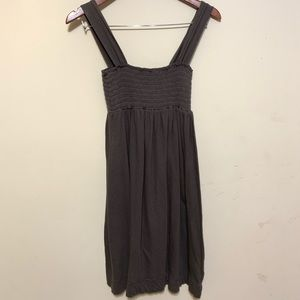 Smocked tank mini dress